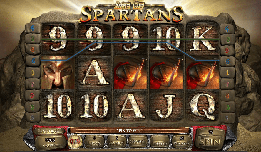 Age of Spartans Saucify 30 No Deposit FREE Spins Lucky Creek