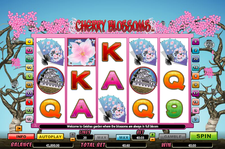 Lincoln Casino Liberty Slots WGS Cherry Blossoms 100 FREE Spins