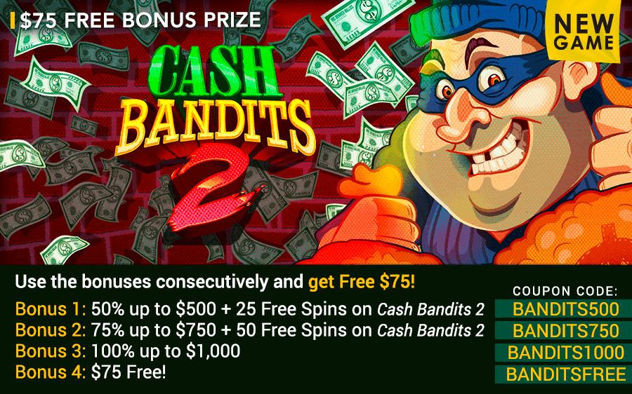 Fair Go Casino Cash Bandits 2 Free Chips And Free Spins Offer Casino Bonus Codes 365