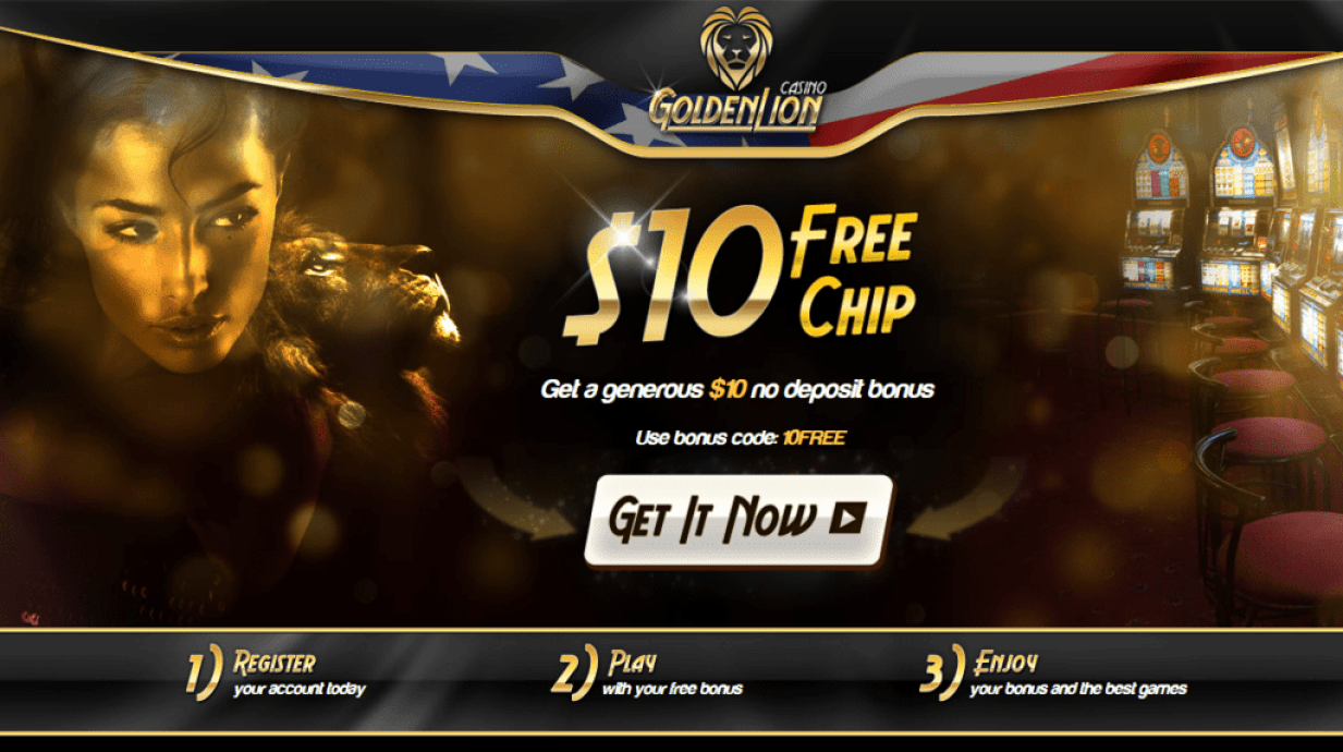 golden lion casino no deposit code