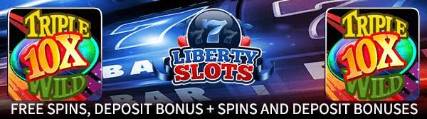Liberty Slots Triple 10x Wild