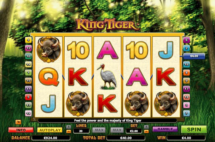 Lincoln Casino Liberty Slots WGS Vegas Technology King Tiger