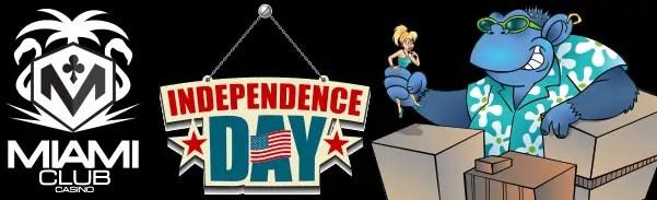 Miami Club Casino Independence Day Tournament