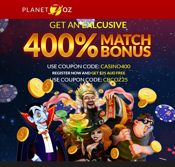 planet 7 casino sign up bonus