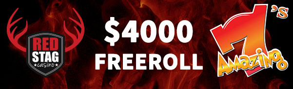 Red Stag Casino Once Upon a Time in Red Stag: Summer Edition $4000 FREEroll