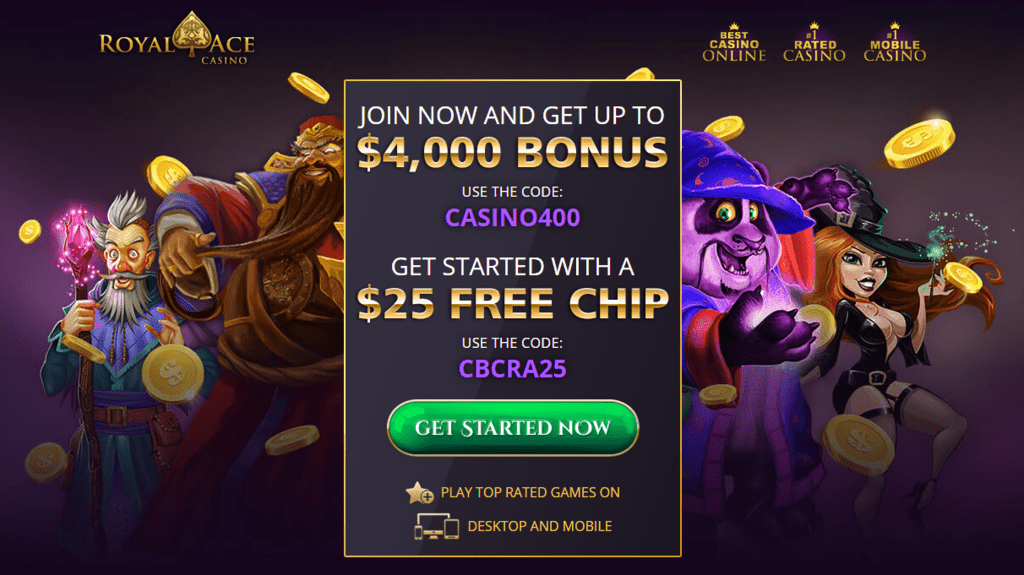 Royal ace casino no deposit bonus free casino slots quick hits