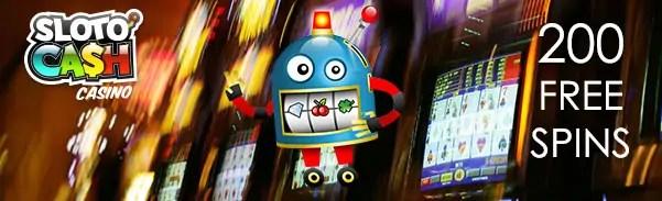 SlotoCash Casino Facebook Contest 20 FREE Spins