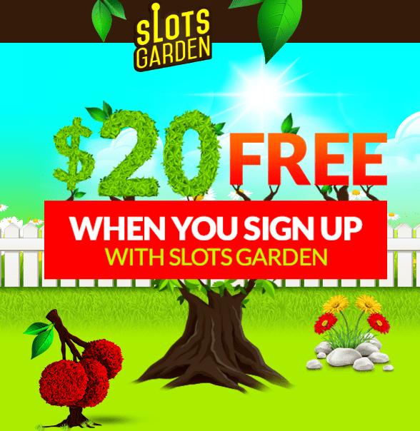 Slots Garden No Deposit Bonus Codes