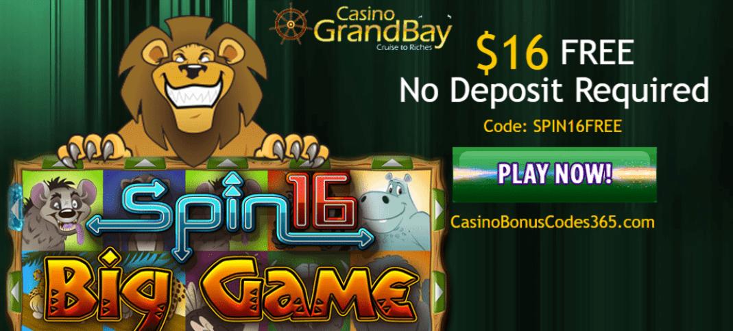 grand bay casino bonus code