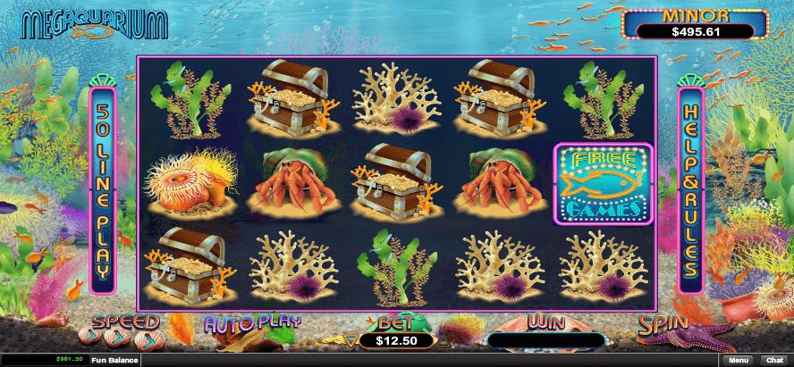 Fair Go Casino RTG Megaquarium 20 FREE Spins No Deposit Bonus