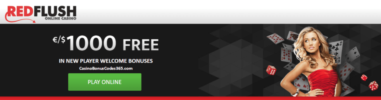 Red Flush Online Casino $1000 Welcome Package