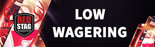 Red Stag Casino Low Wagering New Players Welcome Bonus