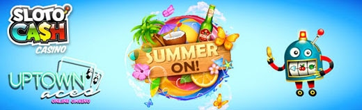 SlotoCash Casino Uptown Aces Keep Calm and Summer On