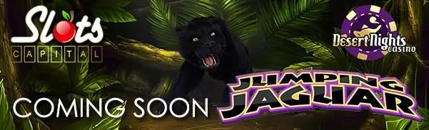 Slots Capital Online Casino Desert Nights Casino Jumping Jaguar Rival Gaming launching
