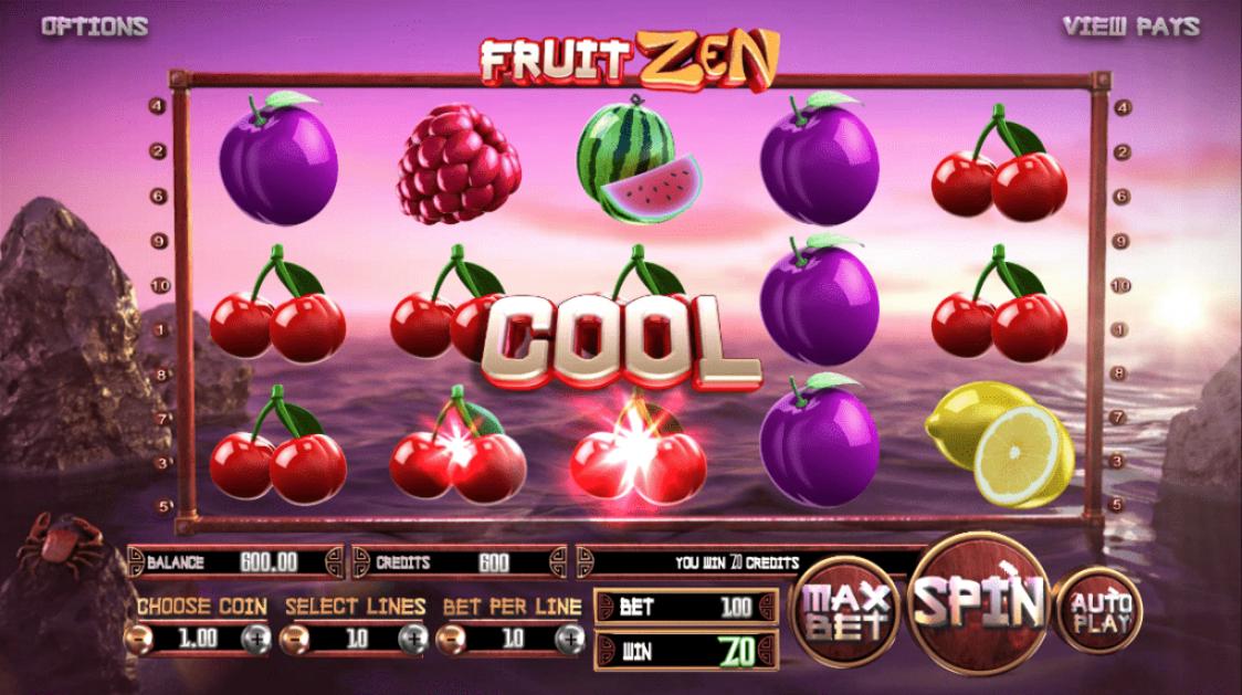 Vegast Crest Casino Betsoft 25 No Deposit FREE Spins Fruit Zen