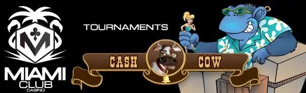 Miami Club Casino More Cowbell Tournament Miami Month Long Tournament