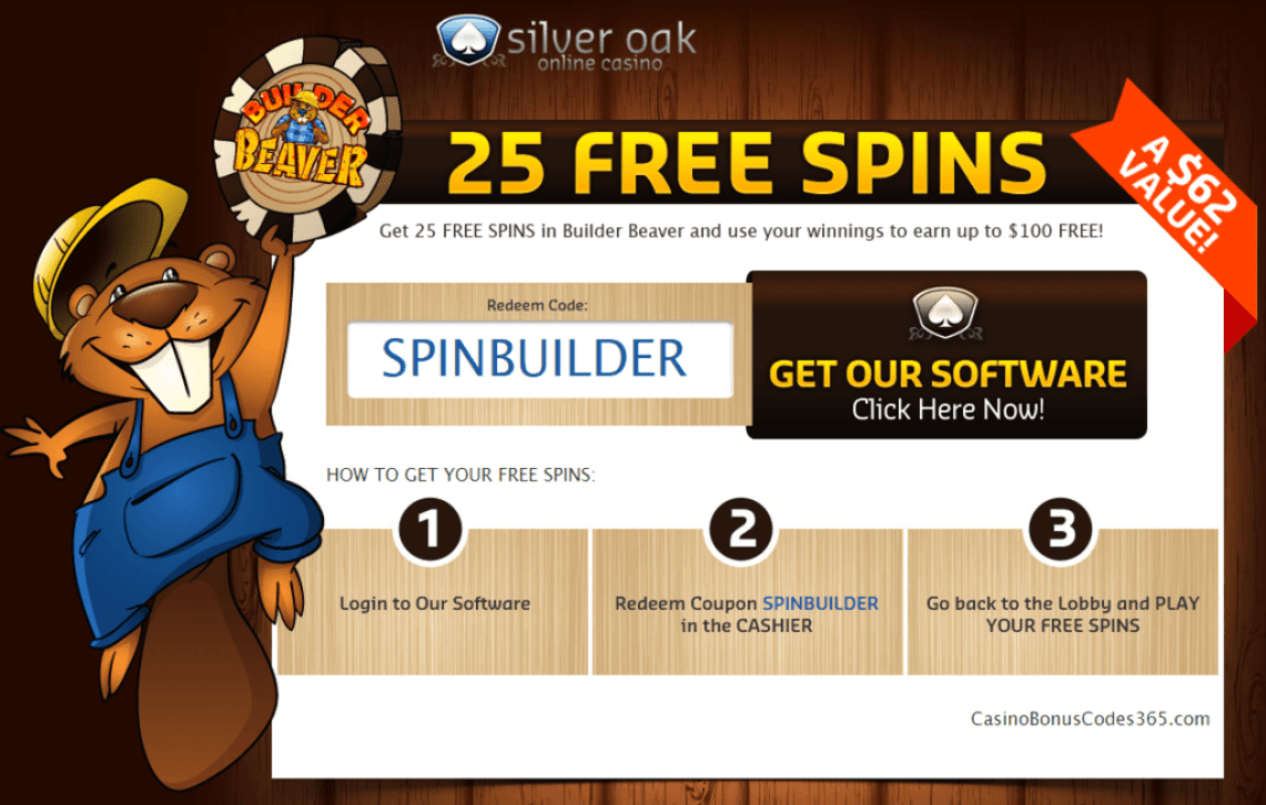 no deposit casino codes for silver oak