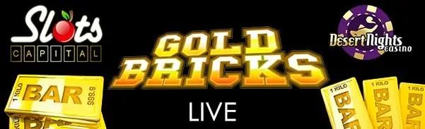 Slots Capital Online Casino Desert Nights Casino Gold Bricks LIVE