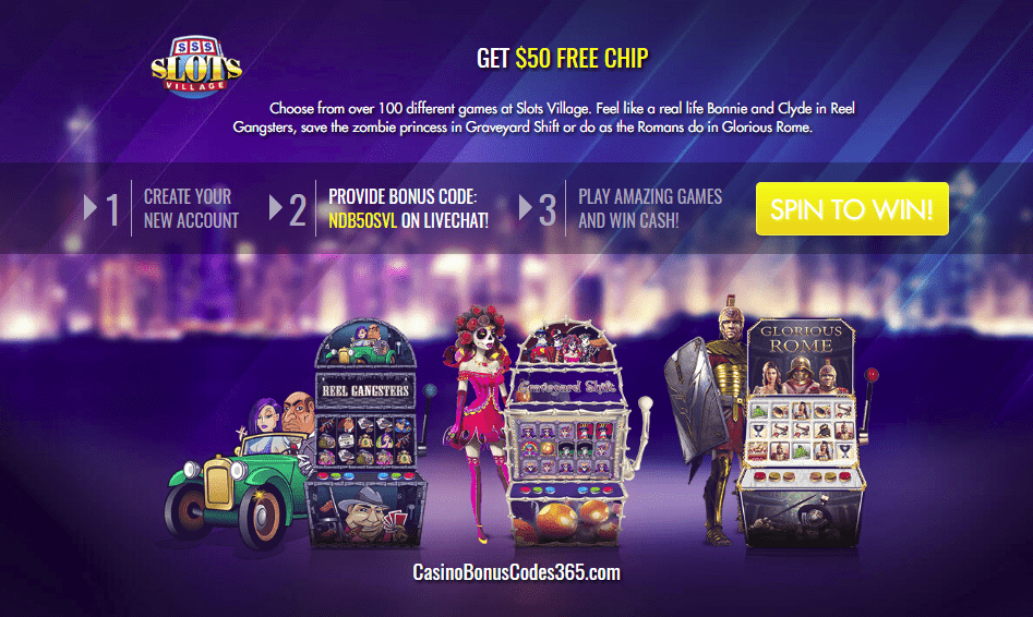 Slots Village $50 No Deposit FREE Chips