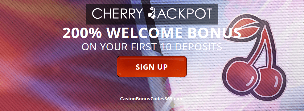 cherry jackpot casino no deposit bonus codes