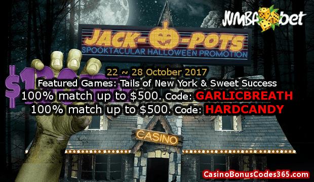Jumba Bet JACK-O-POTS Halloween Promotion Week 4
