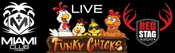 Red Stag Casino Miami Club WGS Funky Chicks LIVE