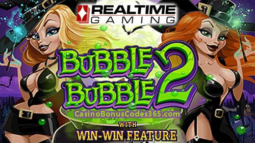 RTG RealTime Gaming Bubble Bubble 2 Planet7 Casino