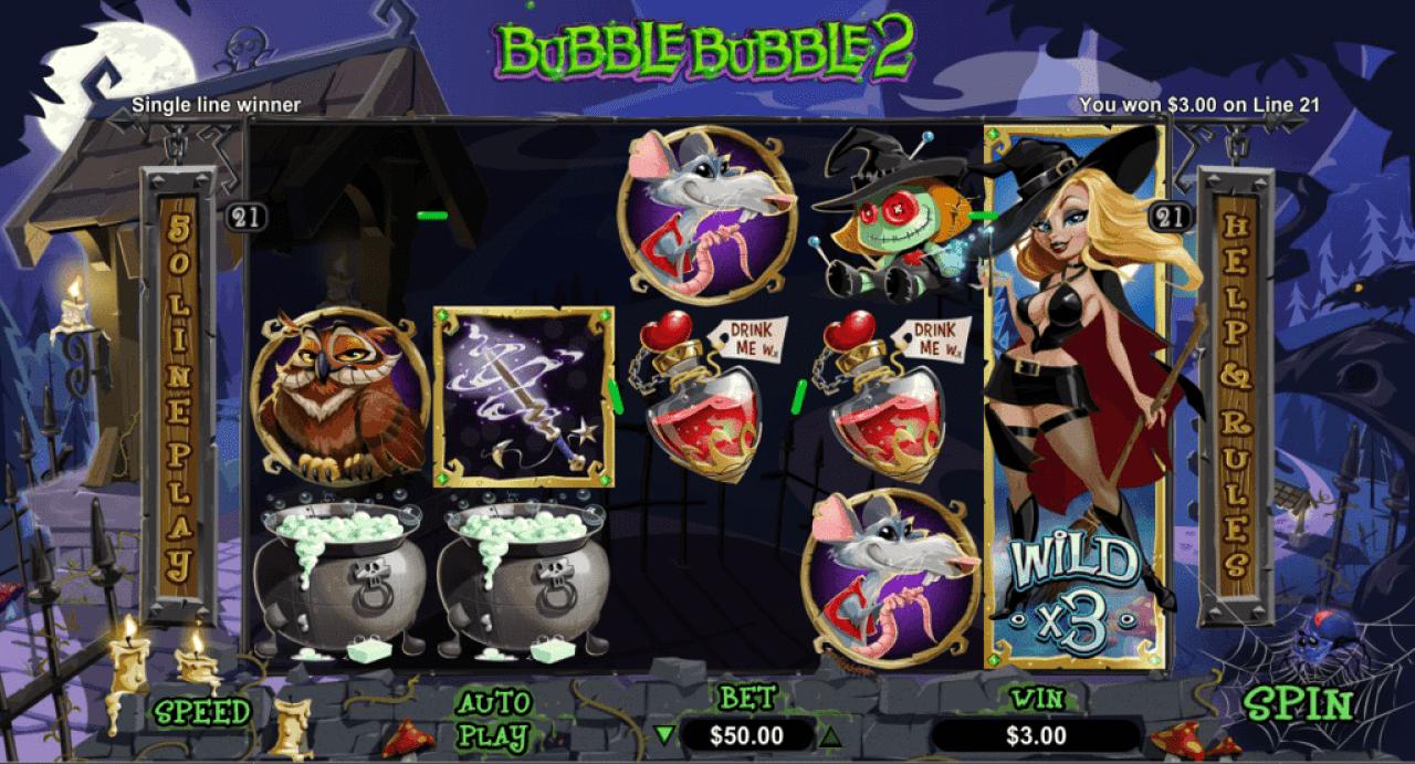 Planet 7 Casino RTG Bubble Bubble 2