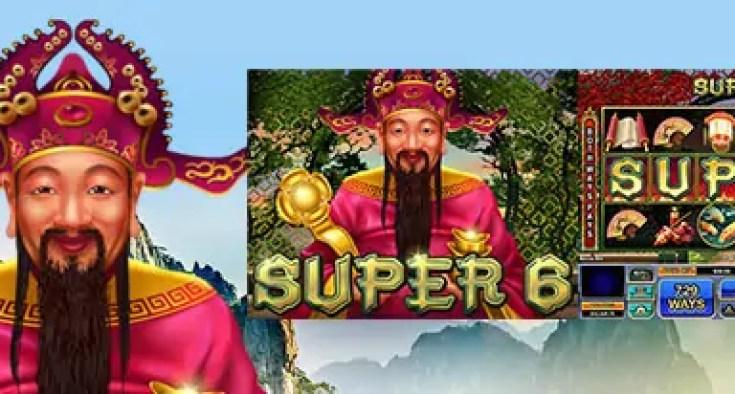 Fair Go Casino RTG Super 6 20 FREE Spins
