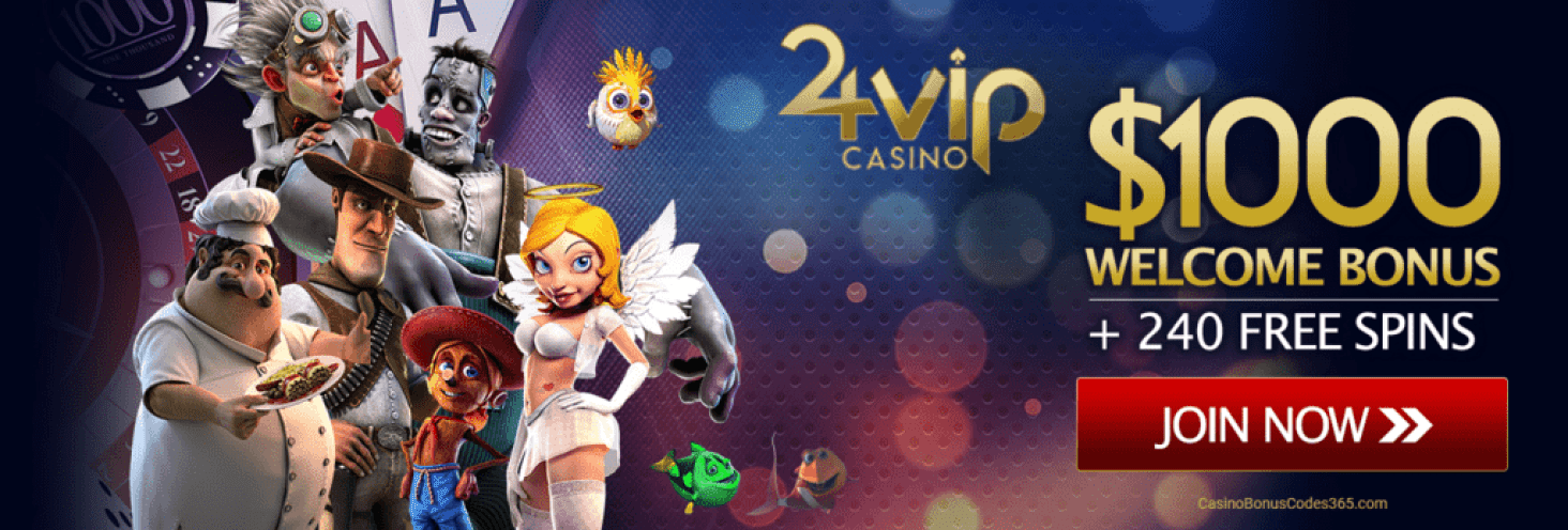 24VIP Casino Rival Betsoft US Friendly $1000 Welcome Bonus plus 240 FREE Spins