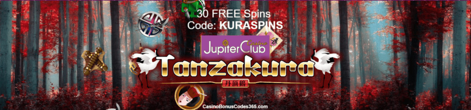 Jupiter Club Casino Saucify New Game Tanzakura 30 FREE Spins
