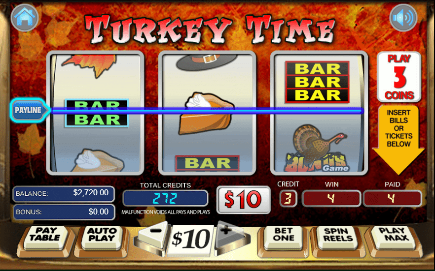 Lincoln Casino WGS Turkey Time