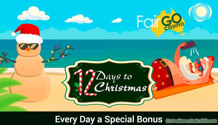 Fair Go Casino 12 Days of Christmas