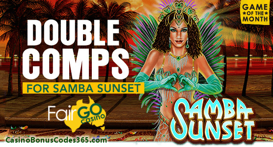 Fair Go Casino Game of The Month December 2017 RTG Samba Sunset