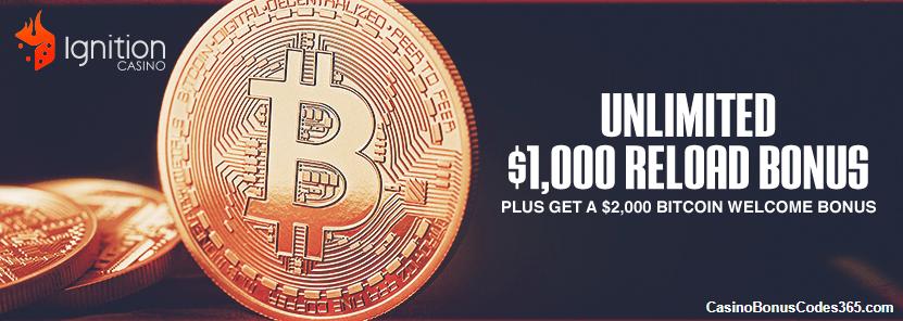 bitcoin deposit ignition casino