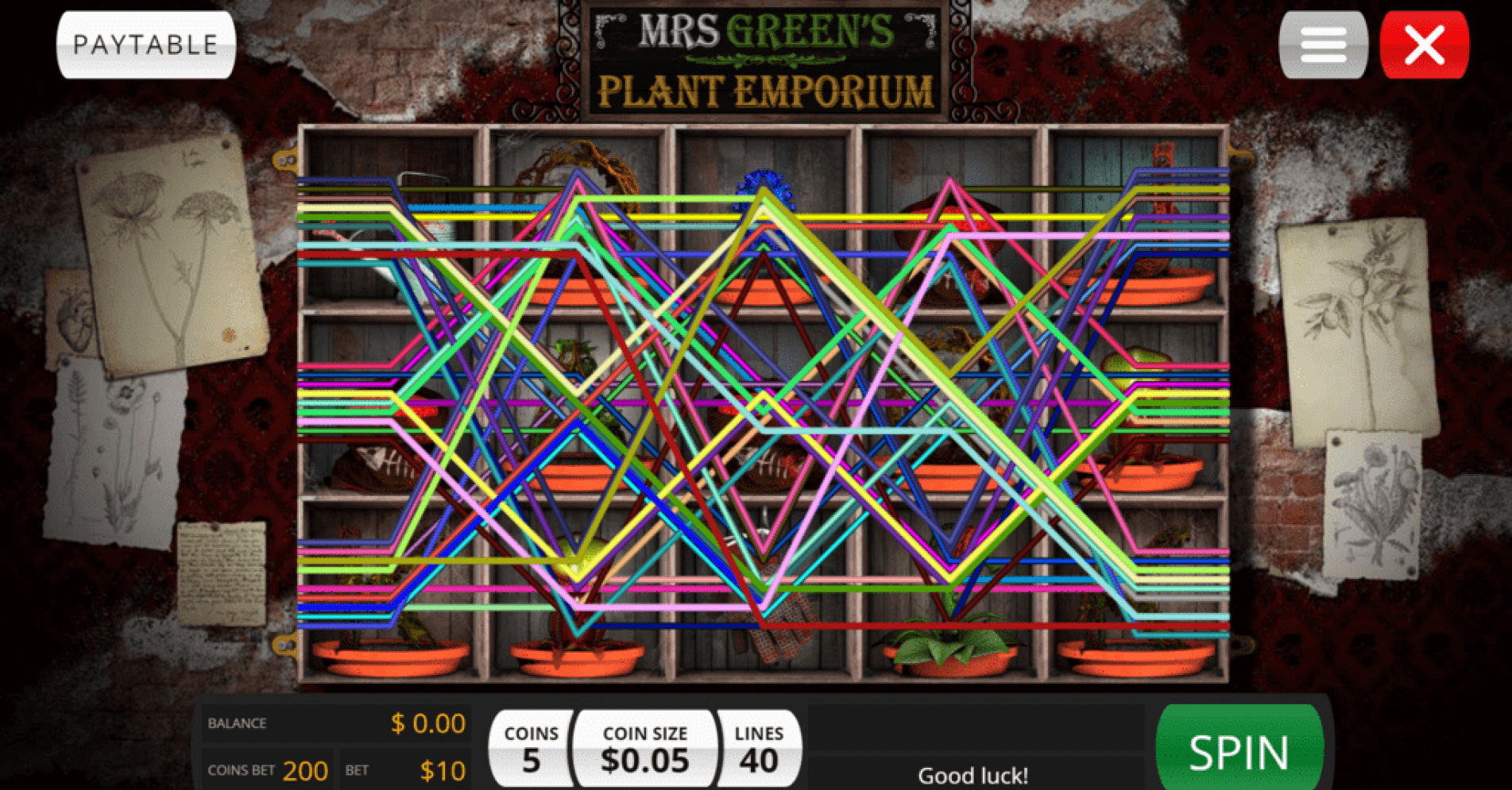 Jumba Bet Saucify Mrs Green Plant Emporium 40 FREE Spins plus 300% up to $600