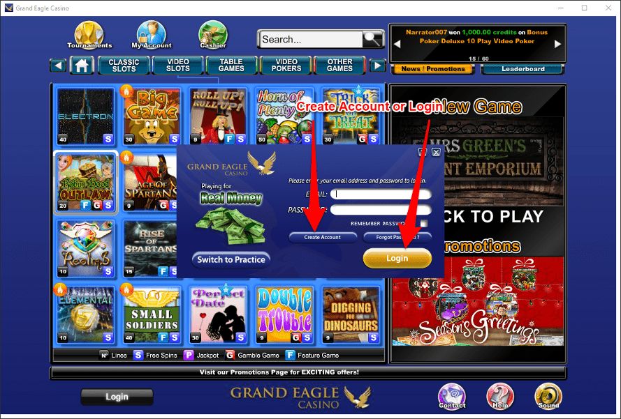 CBC365 Monday Slots Tournament Genesys Club WizBet Treasure Mile Mandarin Palace Grand Eagle Lucky Creek