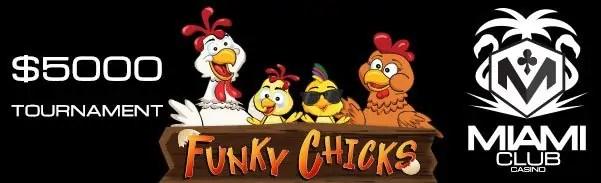 Miami Club Casino $5000 Month Long Tournament WGS Funky Chicks