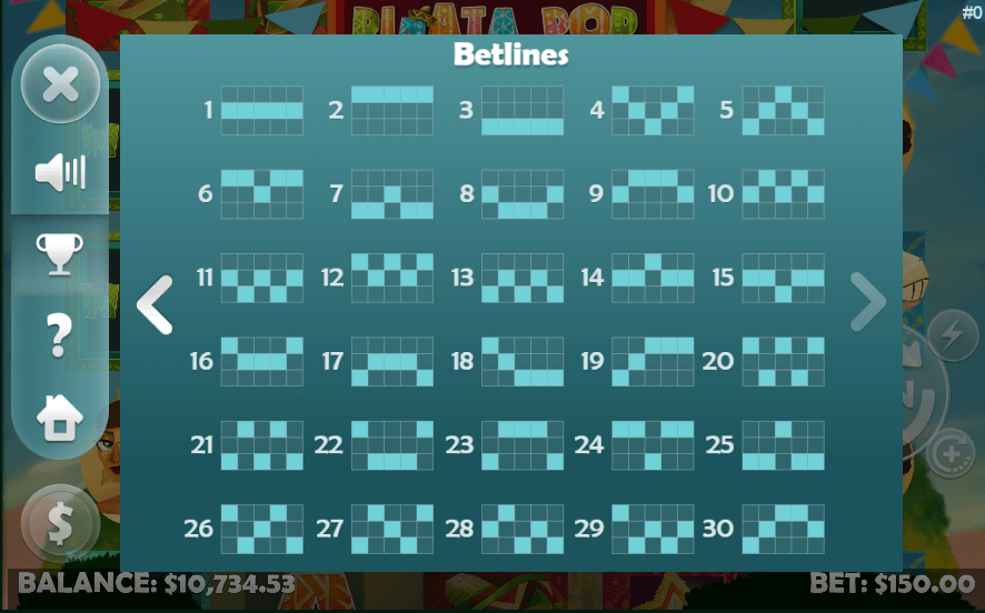 Bingo Fest Mobilots Pinata Pop 10 FREE Spins