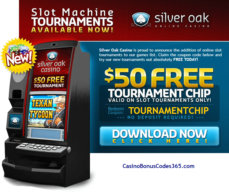 Silver Oak Casino Latest No Deposit Bonus Codes