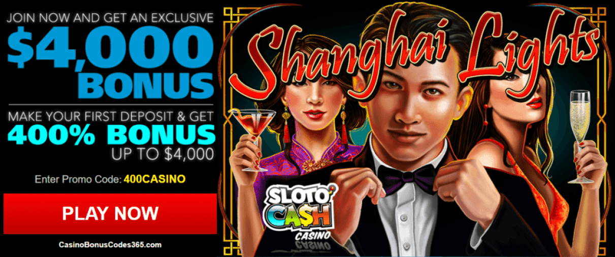 SlotoCash Casino RTG Shanghai Lights