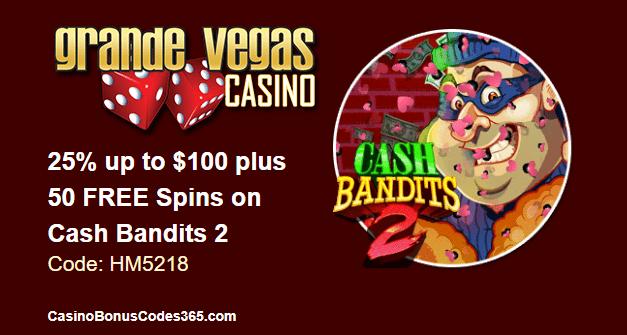 Grande vegas casino 100 no deposit bonus codes Floor - 2019