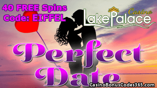 Lake Palace Saucify Perfect Date 40 FREE Spins