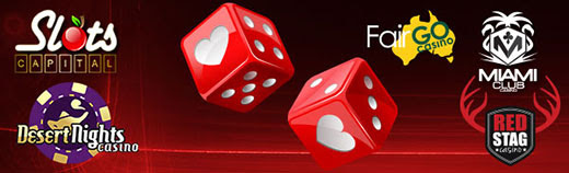 Slots Capital Online Casino Desert Nights Casino Fair Go Casino MiamiClub Casino Red Stag Casino Valentines Specials