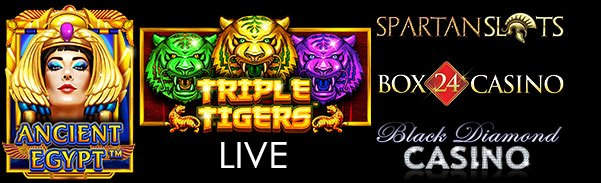 Spartan Slots Box 24 Casino Blackdiamond Casino Pragmatic Play Ancient Egypt Triple Tigers