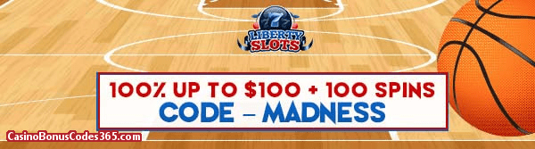 Liberty Slots 100% up to $100 plus 100 Spins WGS King Tiger