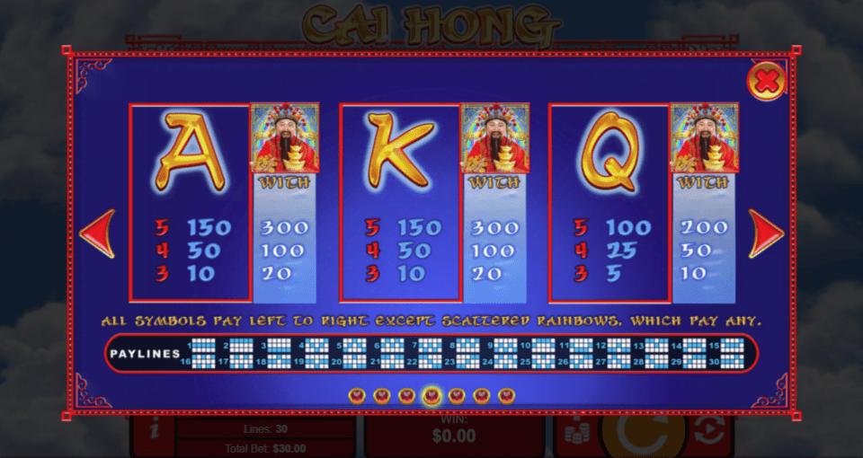 SlotoCash Casino RTG Cai Hong
