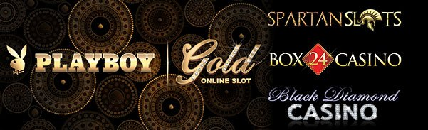 Spartan Slots Box 24 Casino Black Diamond Casino New game Microgaming Playboy Gold