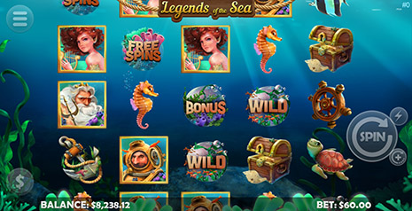 BingoSpirit Mobilots Legends of The Sea