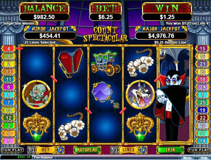 Casino Brango RTG Count Spectacular